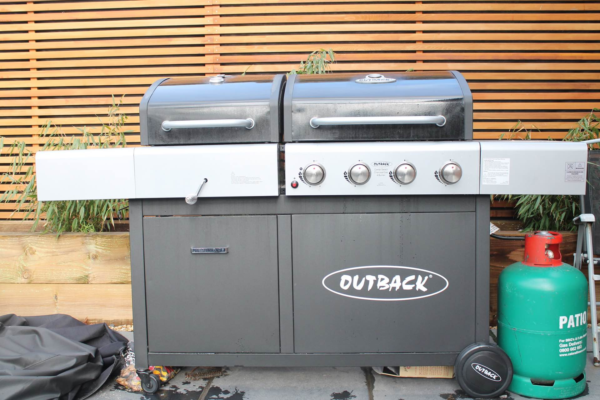 Outback Combi BBQ