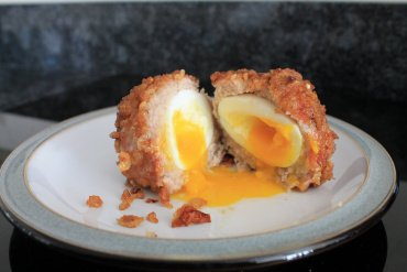 Cooked Scotch Egg