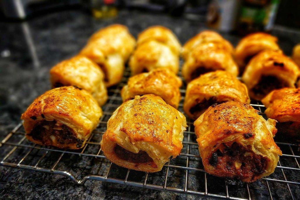 BBQ Pulled Pork Sausage Rolls
