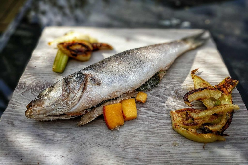 Cooked Sea Bass