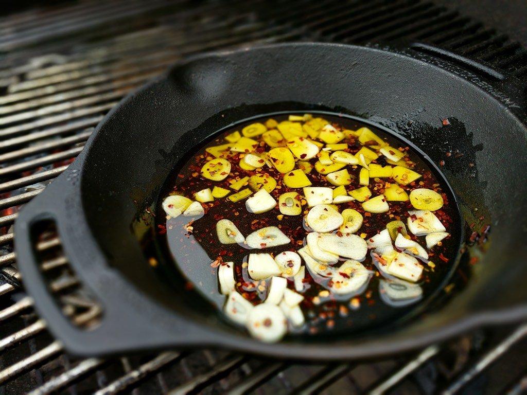 Garlic Cooking