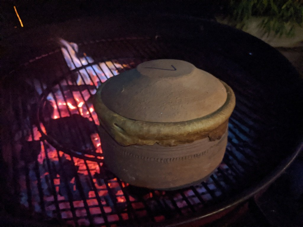 Clay Pot on the BBQ