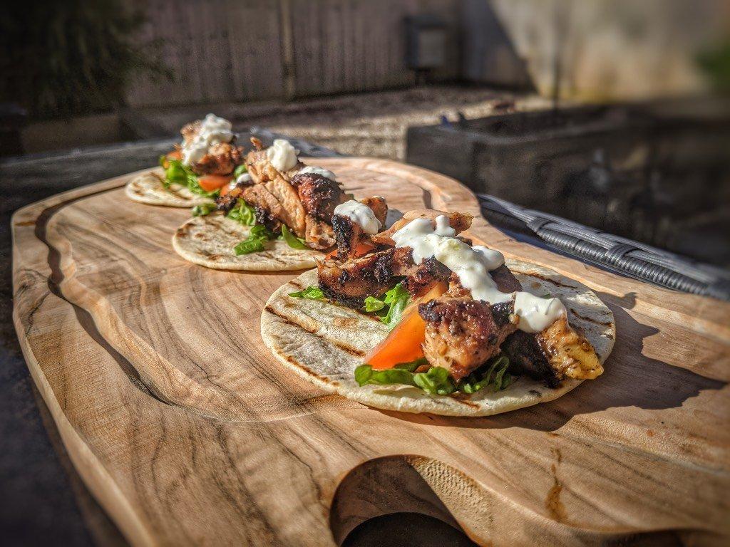 Greek Gyros Chicken Thighs