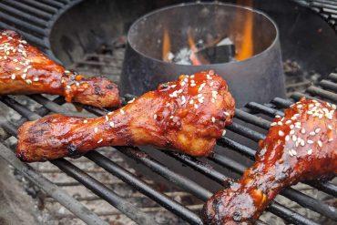 Gochujang Chicken Drumsticks Cooking