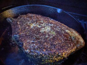 Seared Beef Fore Rib