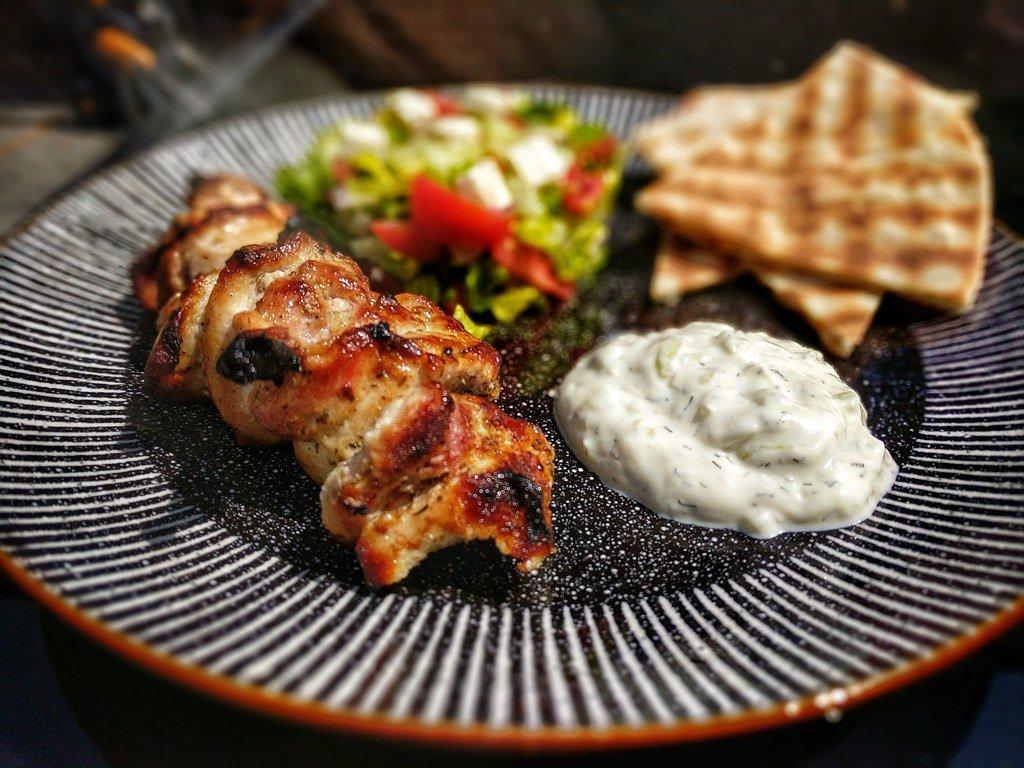 Tzatziki with Kebab