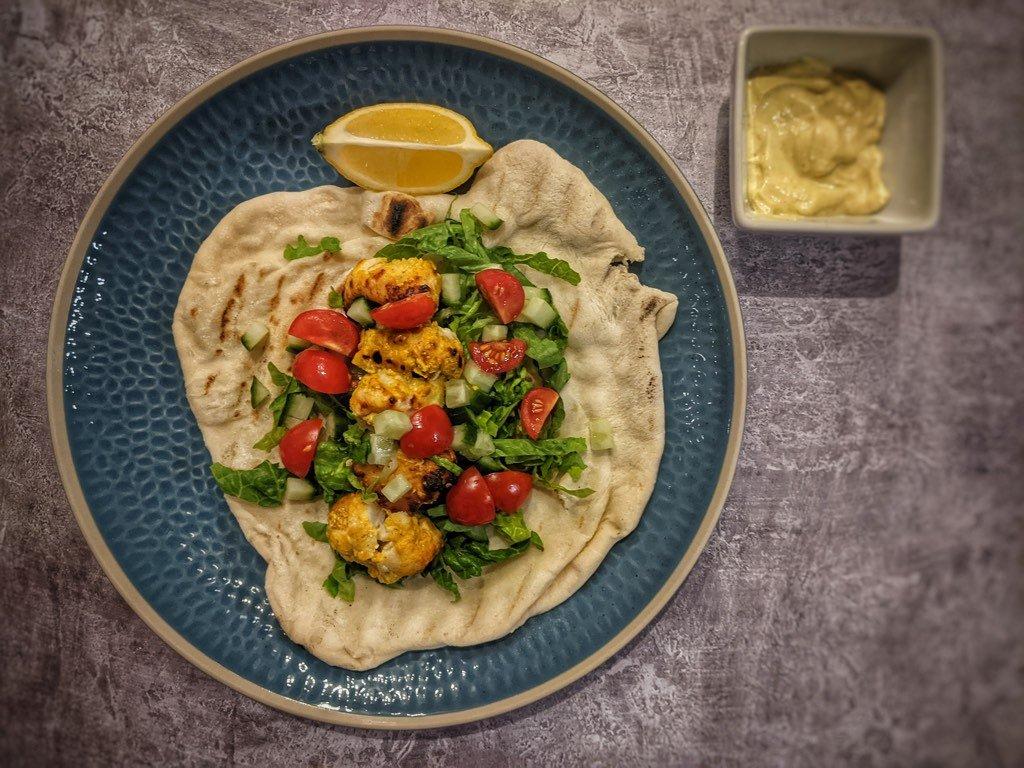 Indian Inspired Monkfish Kebab