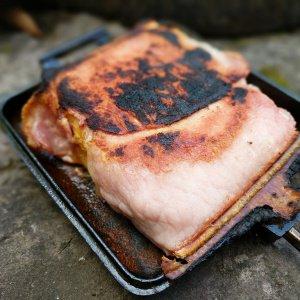 Bacon Wrapped Halloumi & Chorizo Toasted Sandwich