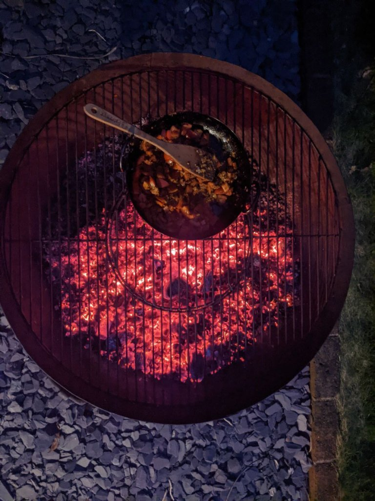 Cooking over Embers