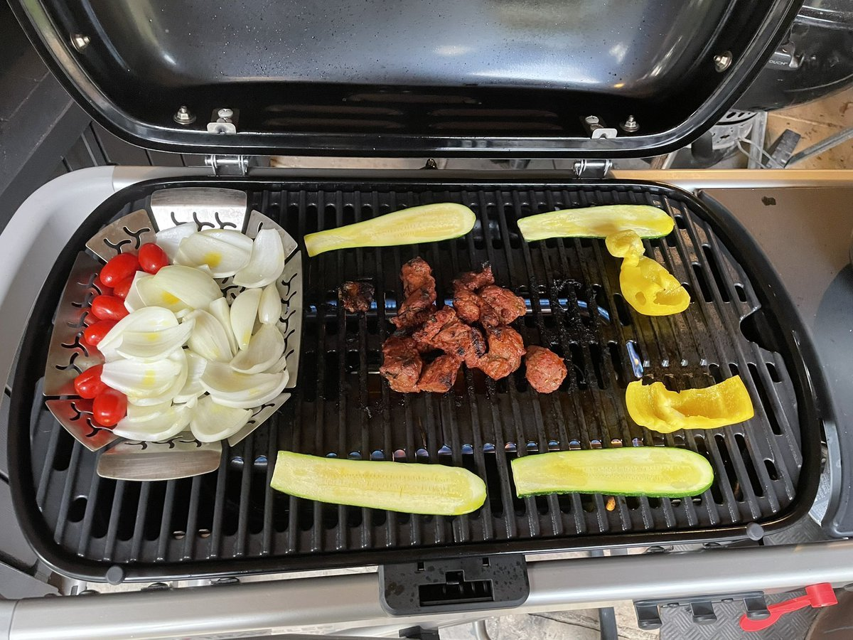 Cooking on the Weber Traveler